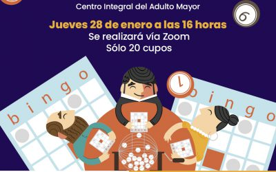 Centro Integral del Adulto Mayor realizará bingo virtual: Hay 20 cupos